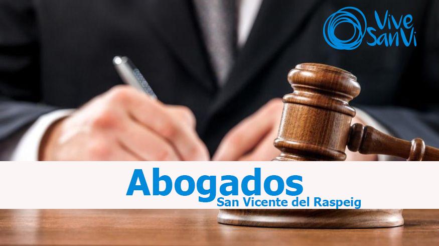Servicios legales en San Vicente del Raspeig