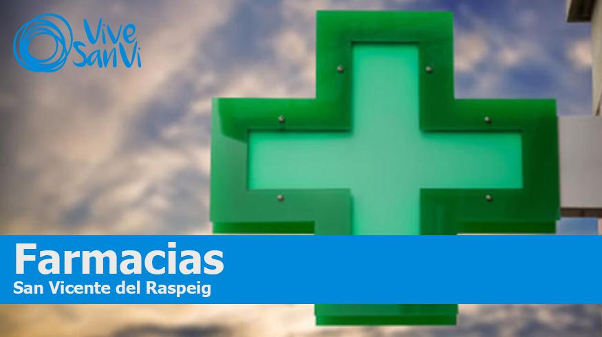 Farmacias en San Vicente del Raspeig